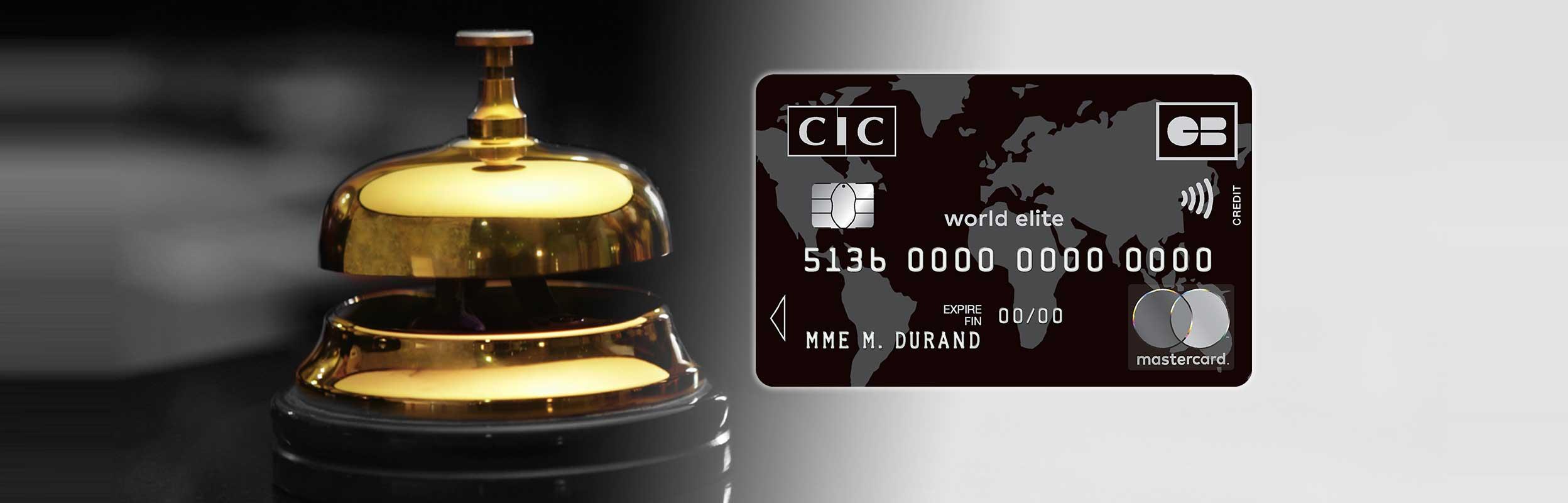 Carte Black Credit Mutuel.Carte World Elite Mastercard Cic