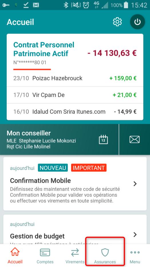 carte avance santé cic Mobile : demandez vos remboursements santé avec l'appli   Dossier