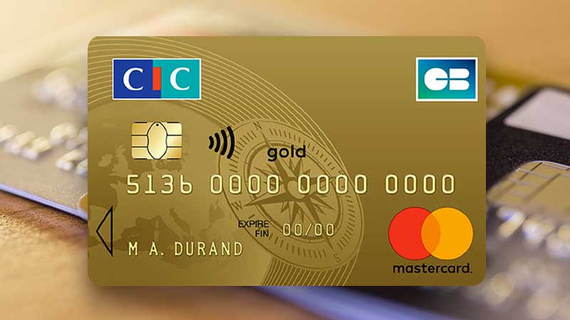 Carte Bancaire Gold Credit Mutuel.Carte Gold Mastercard Cic