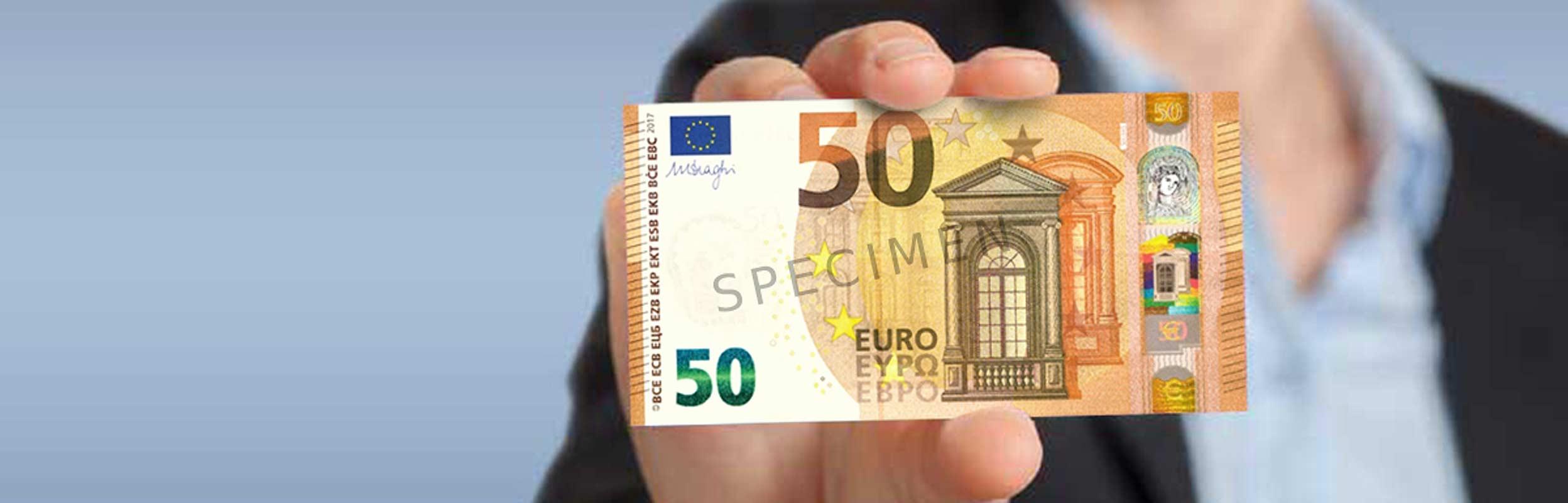 Le Nouveau Billet De 50 Euros Arrive Bientot Dossier Cic